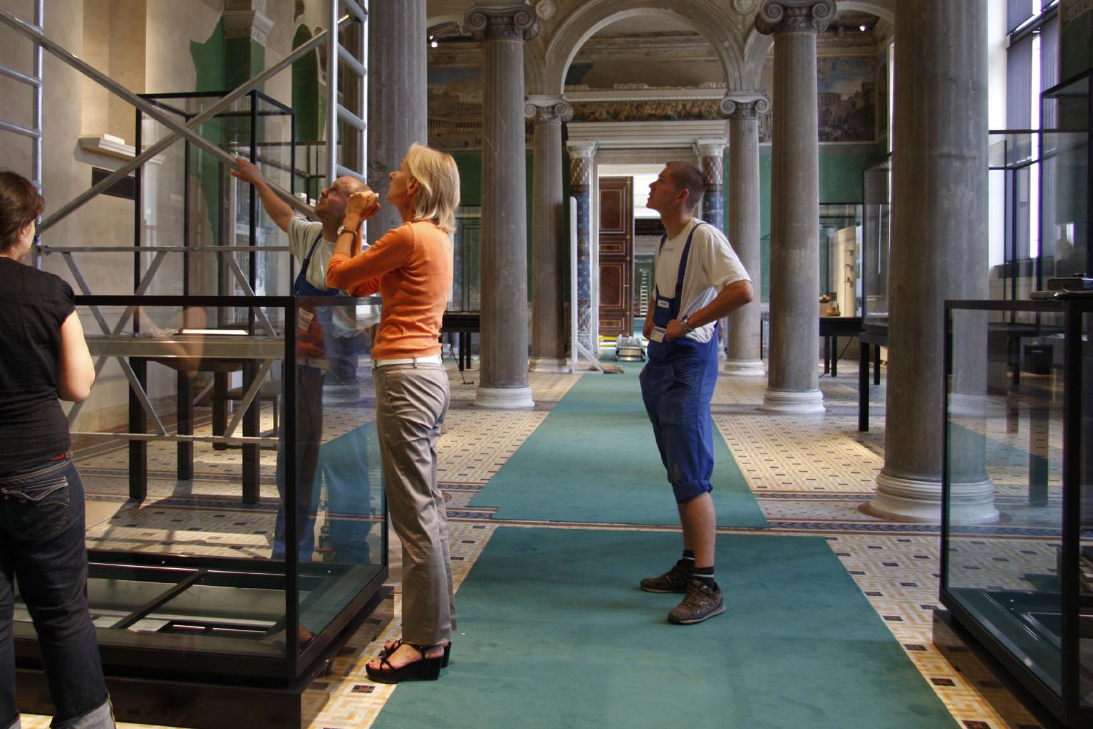 Neues Museum_Lichttest_Kardorff Lichtplanung