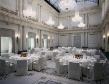 Hotel de Rome_ Ballsaal, beleuchtet von Kardorff Ingenieure Lichtplanung