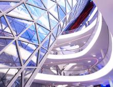 My Zeil, beleuchtet von Kardorff Ingenieure Lichtplanung