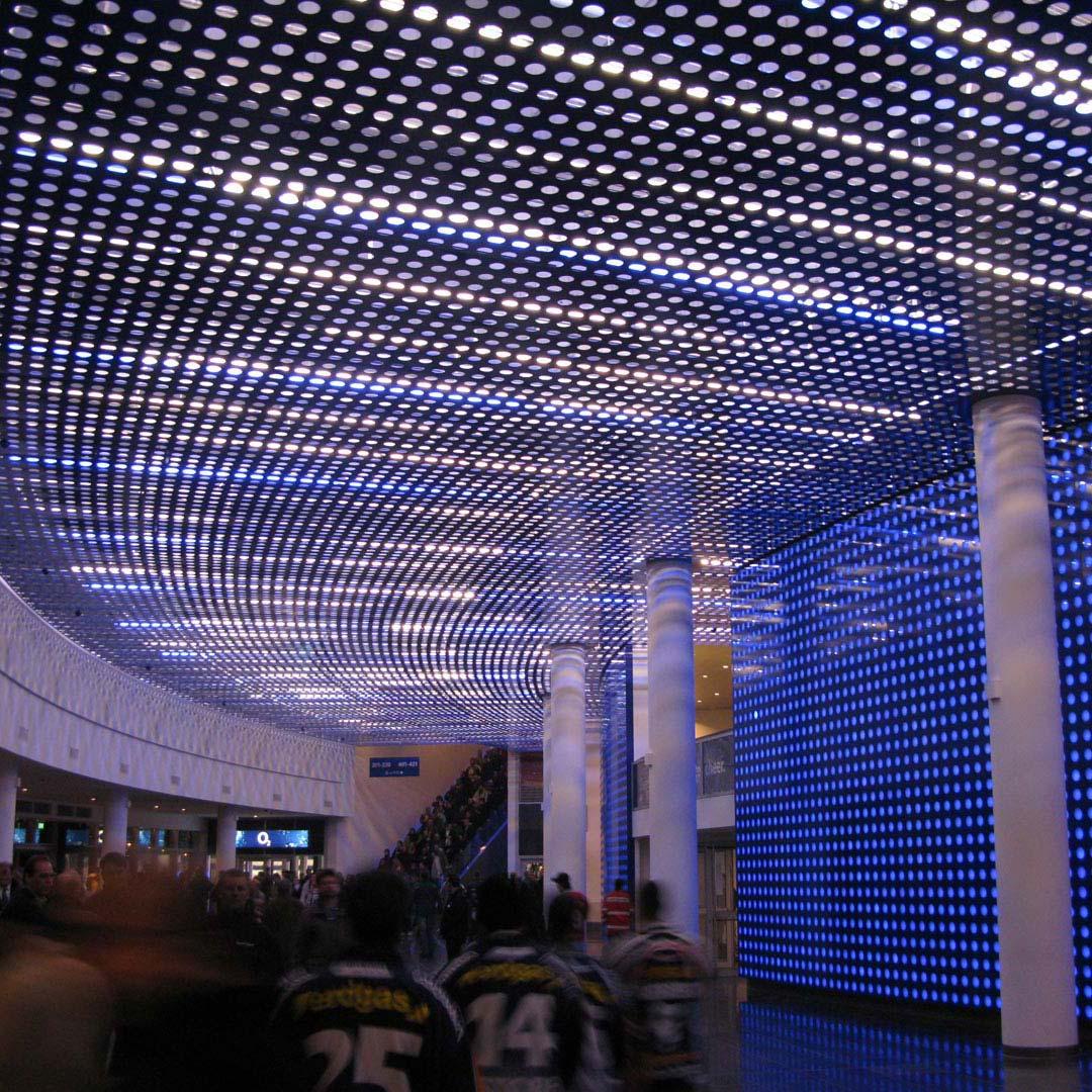 O2 Arena_Kardorff Ingenieure Lichtplanung
