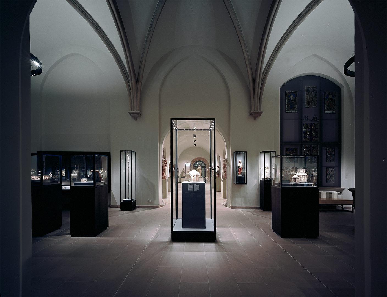 Hessisches Landesmuseum Kardorff Ingenieure Lichtplanung, gotische Kapelle
