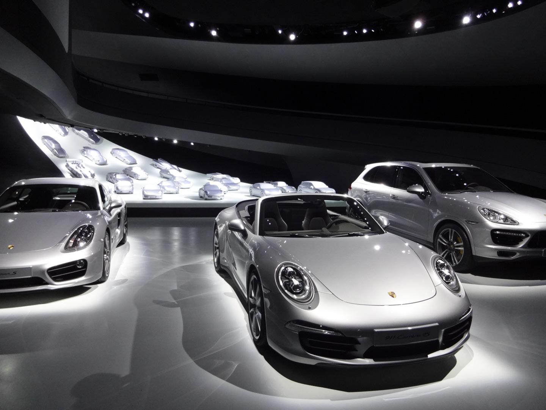 Porsche Pavillon, Kardorff Ingenieure Lichtplanung
