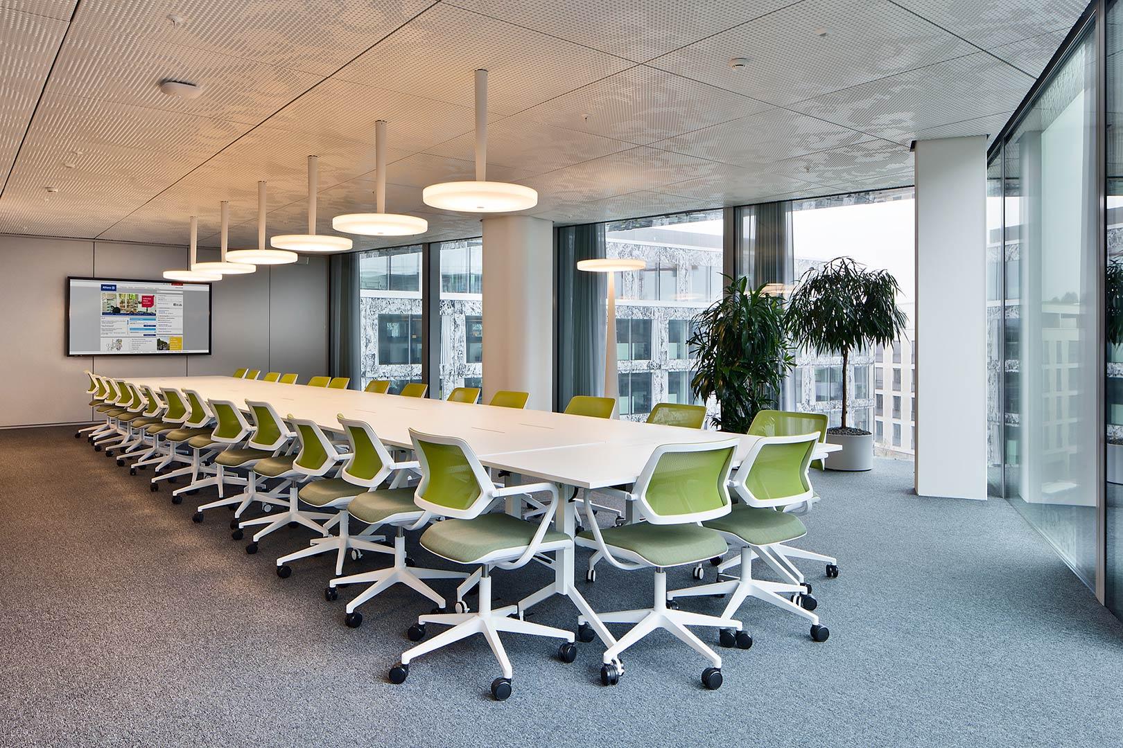Kardorff Ingenieure Lichtplanung Allianz Headquarters