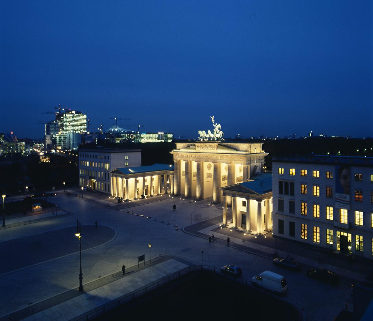 Brandenburger Tor_Pariser Platz, beleuchtet von Kardorff Ingenieure Lichtplanung