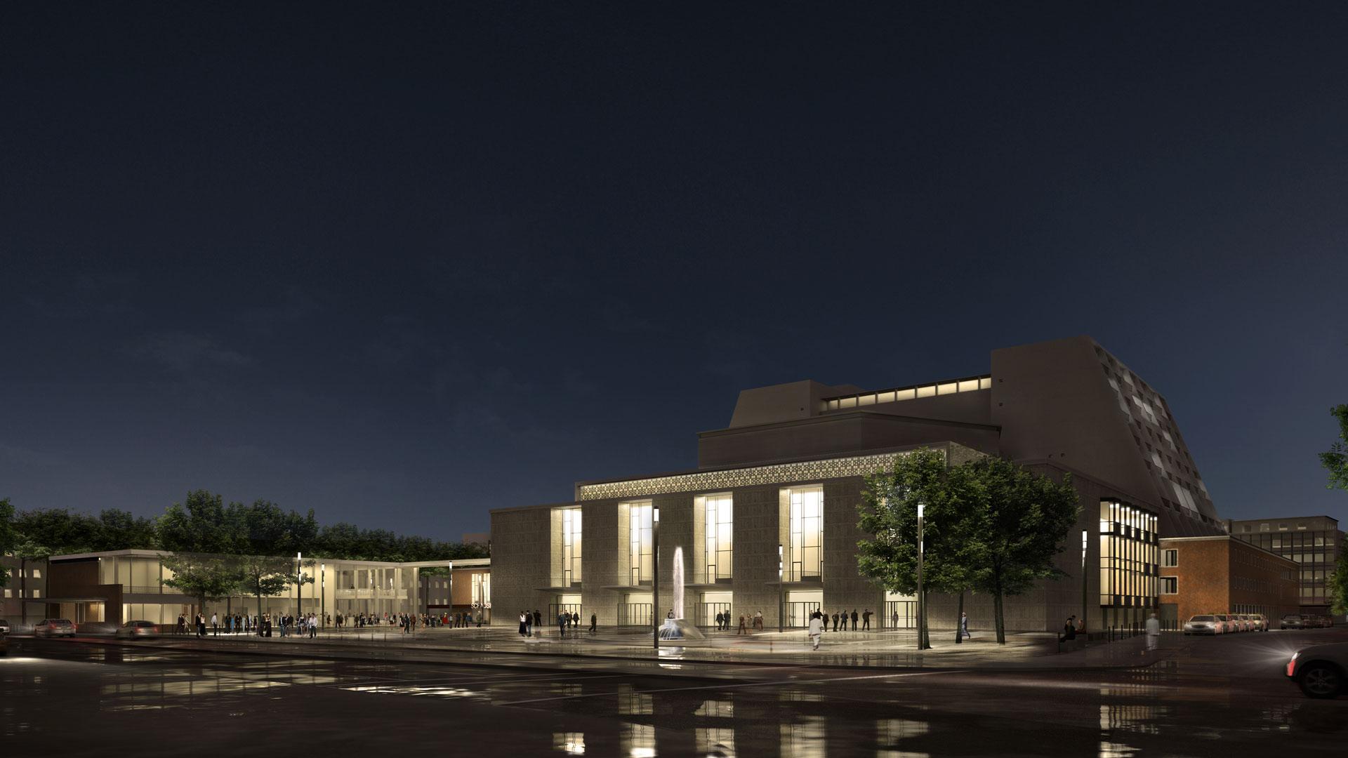 Lichtplanung Köln renovation opera house and theatre cologne kardorff ingenieure