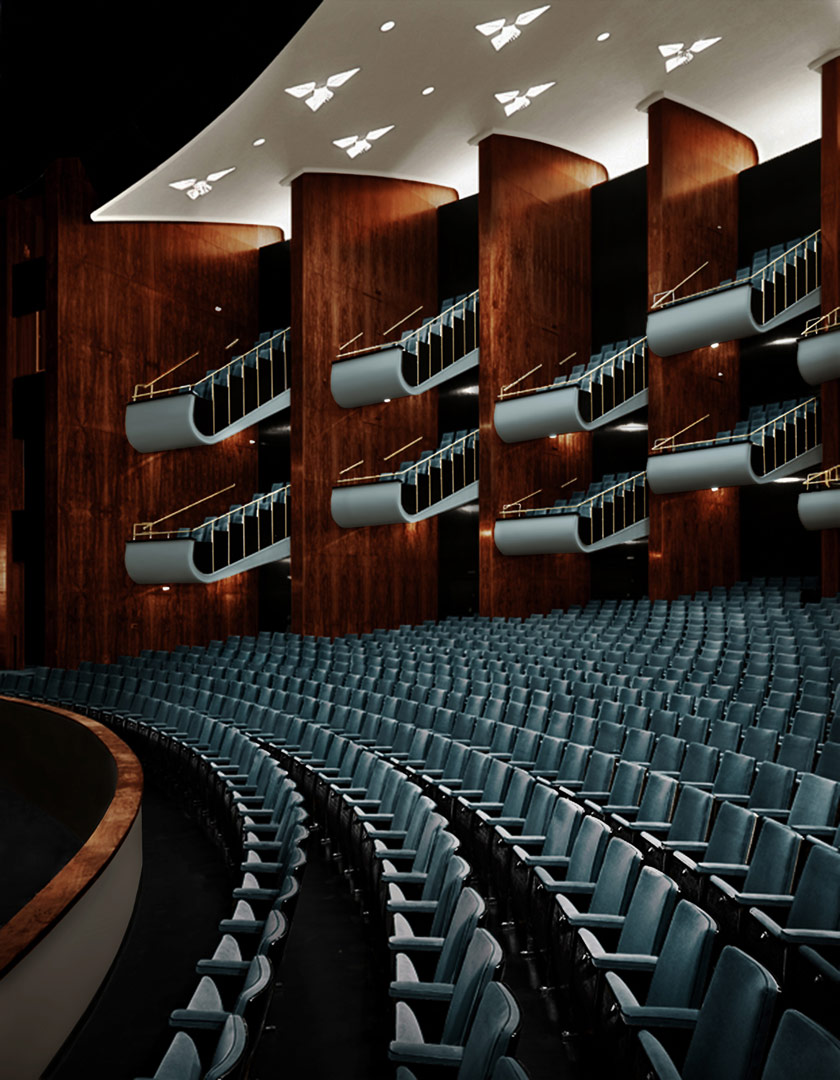 renovation opera house and theatre cologne kardorff. Black Bedroom Furniture Sets. Home Design Ideas