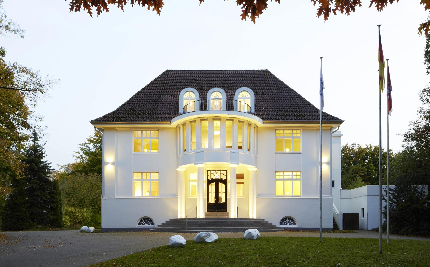Haus Rissen Hamburg_Kardorff Ingenieure Lichtplanung