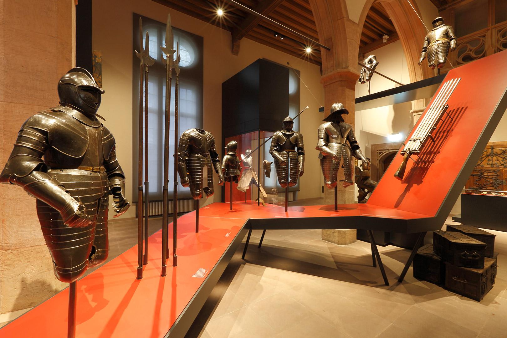 Hessisches Landesmuseum Kardorff Ingenieure Lichtplanung, Waffensaal
