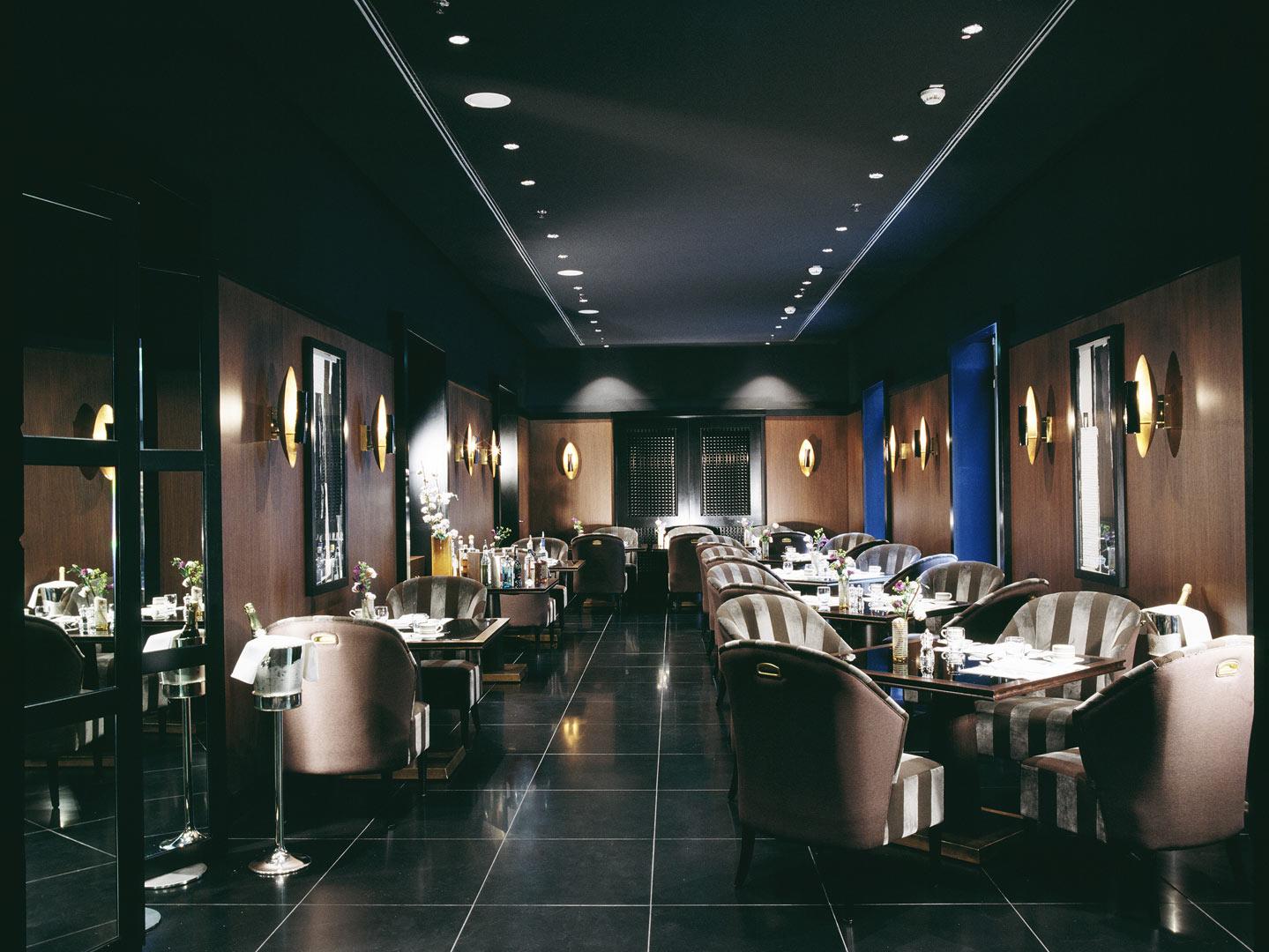 Hotel de Rome_Restaurant, beleuchtet von Kardorff Ingenieure Lichtplanung