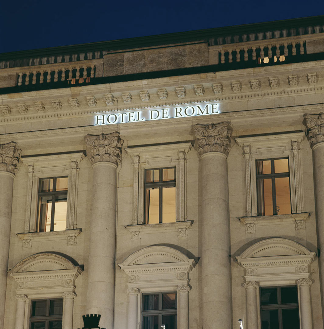 Hotel de Rome_beleuchtet von Kardorff Ingenieure Lichtplanung