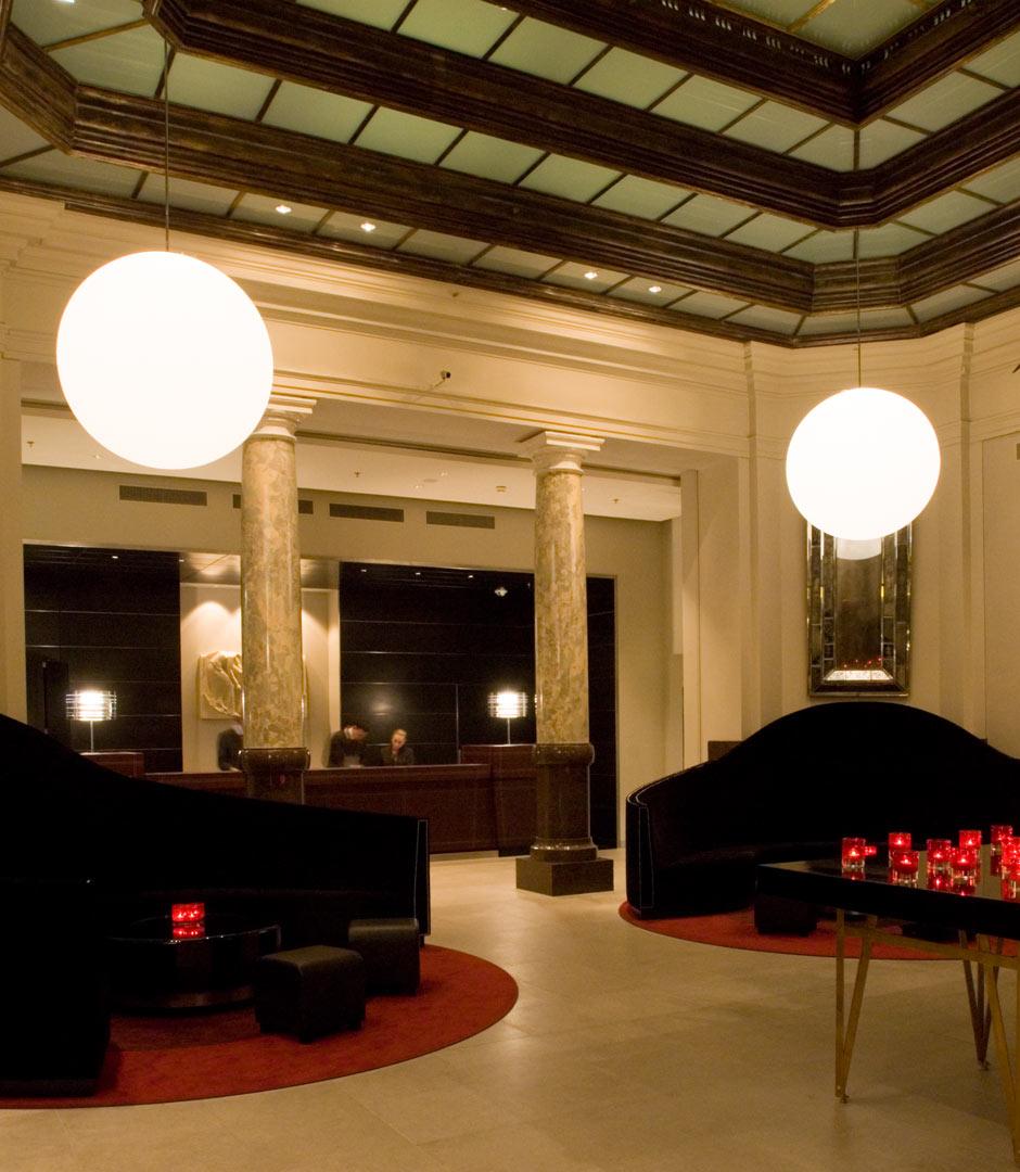 Hotel de Rome, beleuchtet von Kardorff Ingenieure Lichtplanung