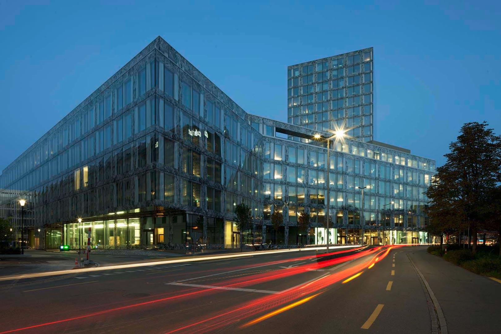Allianz HQ Zürich_Kardorff Ingenieure Lichtplanung