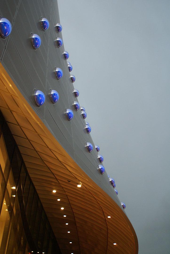 Limbecker Platz, beleuchtet von Kardorff Ingenieure Lichtplanung