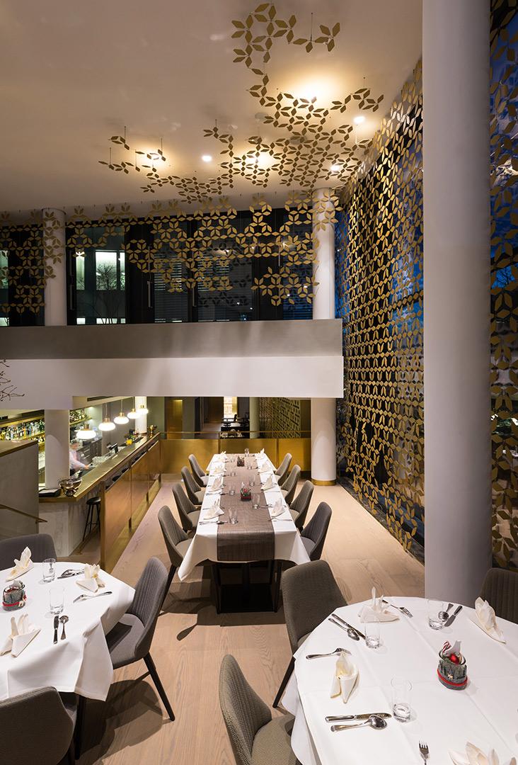 Mercedes-Benz Vertrieb, Restaurant, Kardorff Ingenieure Lichtplanung