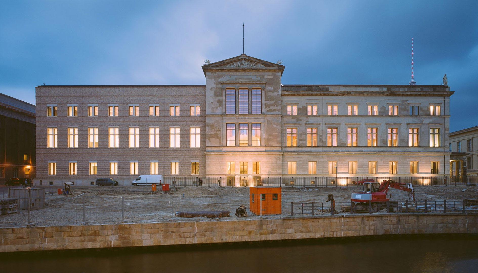 Neues Museum, Kardorff Ingenieure Lichtplanung