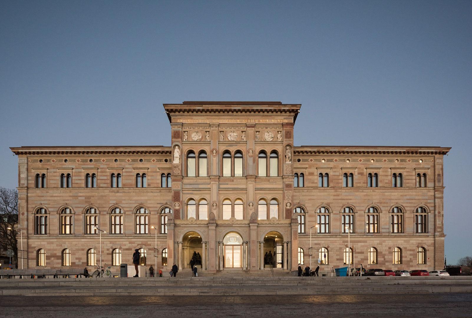 Nationalmuseum_Stockholm_Außenansicht_Kardorff_Ingenieure_Lichtplanung_Lintner