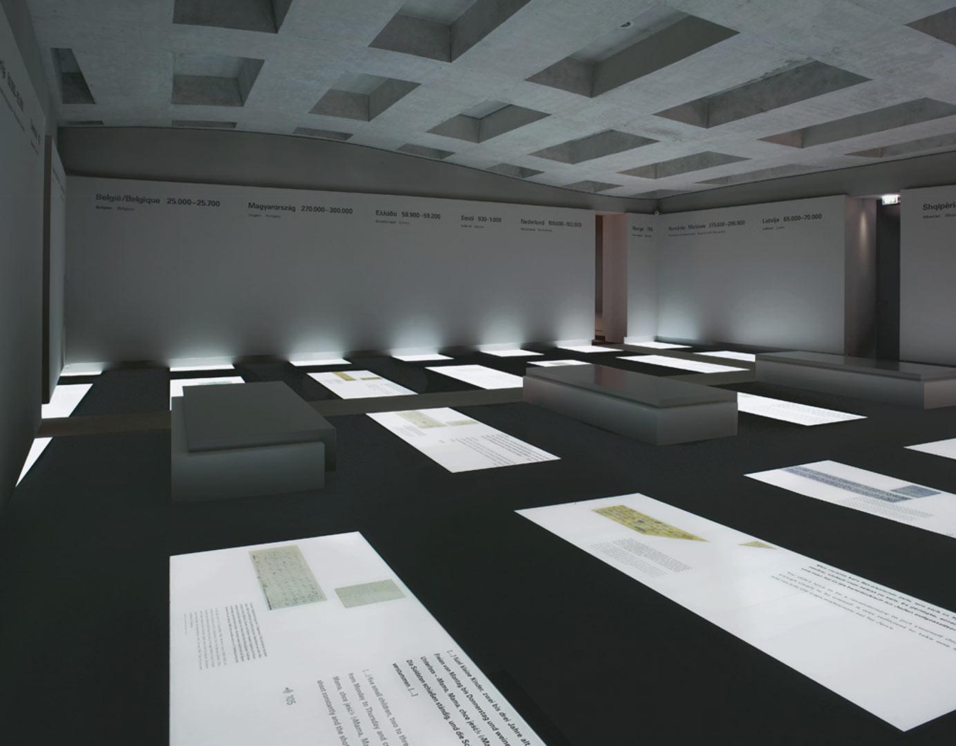 information center memorial to the murdered jews of europe kardorff ingenieure lichtplanung. Black Bedroom Furniture Sets. Home Design Ideas