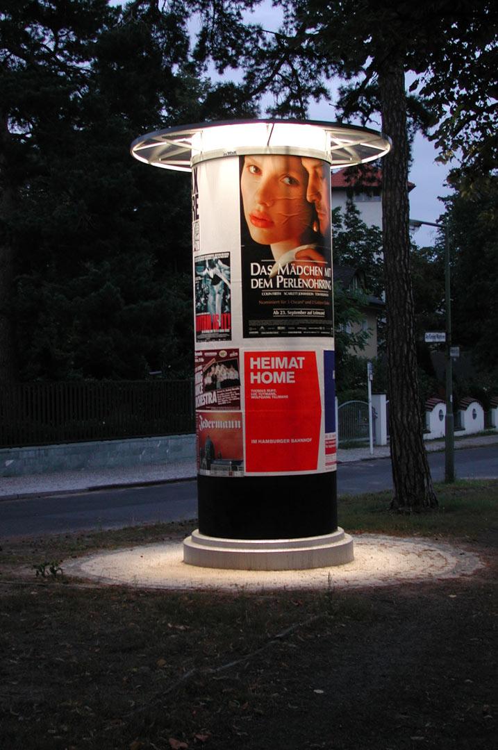 Wall_Litfasssäule_Kardorff Ingenieure Lichtplanung